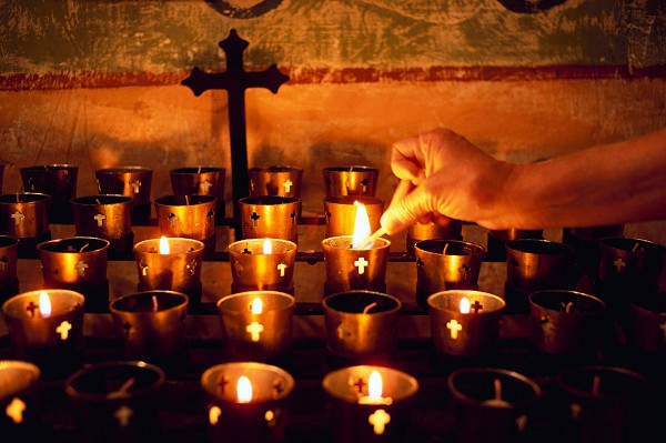 Prayers for the souls of the faithful departed