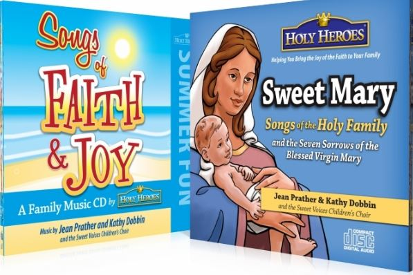 Two wonderfully Catholic CDs of children's songs