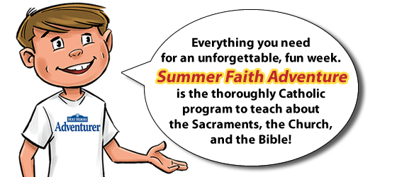 "Our ""Backyard Catholic VBS"" is back (& it's FREE!)"
